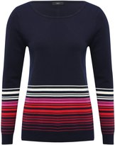 M&Co Ombre stripe jumper