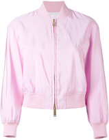 DSQUARED2 bomber jacket - women - Silk/Polyester/Acetate - 42