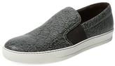 Lanvin Printed Slip On Sneaker