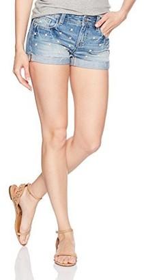 Miss Me Women's Beaded Denim Short