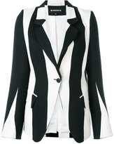 Ann Demeulemeester striped blazer - women - Cotton/Linen/Flax - 40