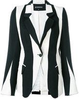 Ann Demeulemeester striped blazer