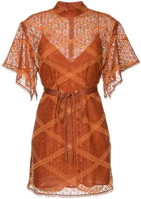 Manning Cartell lace layer dress