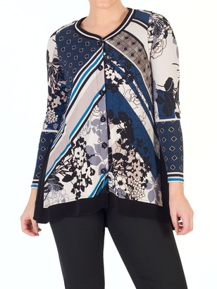 Riviera Chesca Floral Print Jersey Top,