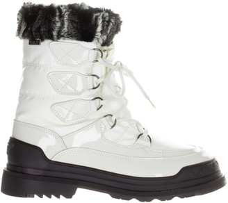 Pajar Faux Fur-Trim Lace-Up Boots