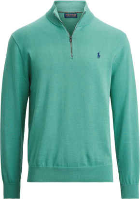 Ralph Lauren Cotton Half-Zip Jumper