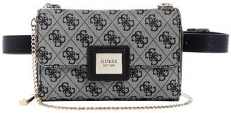 GUESS SG766880BLA Candace Flap Over Belt Bag