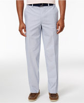 Haggar Men's Heritage Classic-Fit Stretch Stripe Poplin Dress Pants