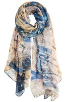FRONT ROW SOCIETY Map of China Modal Scarf