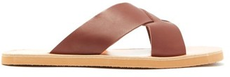 Ancient Greek Sandals Bios Leather Sandals - Mens - Brown
