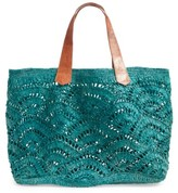 Mar y Sol Tulum Tote - Blue/green