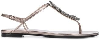 Valentino Serpent flat sandals