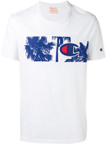 Champion printed panel T-shirt - men - Cotton - L