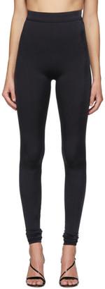 Balmain Black High-Waisted Leggings