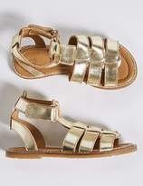 Marks and Spencer Kids' Leather Sandals (5 Small - 12 Small)