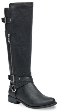 Gbg Los Angeles Herly Wide Calf Riding Boot