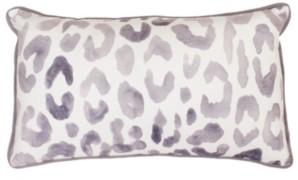"""Thro Miron Cheetah Velvet Pillow, 12"""" x 20"""""""