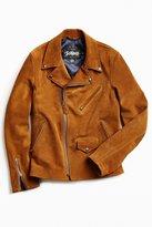 Schott X UO Suede Cowhide Moto Jacket
