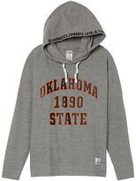 PINK Oklahoma State University Crossover Pullover Hoodie