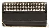 Lanvin Embellished leather clutch