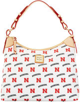 Dooney & Bourke NCAA Nebraska Hobo