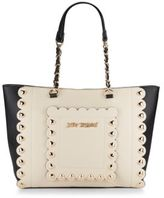 Betsey Johnson Wavy Days Two-Tone Tote