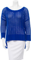Robert Rodriguez Wool Open Knit Sweater