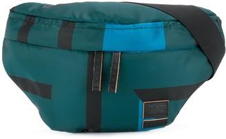 Marni x Porter striped belt bag
