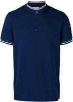 Moncler zip-top polo shirt - men - Cotton - S