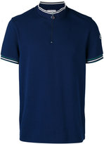 Moncler zip-top polo shirt - men - Cotton - XL