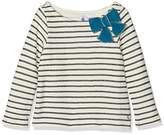 Petit Bateau Girl's Mariniere Co/L/C10A Long Sleeve Top,(Manufacturer Size:10A 10Ans)