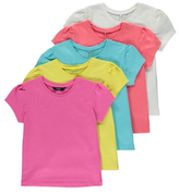 George 5 Pack Assorted Tops