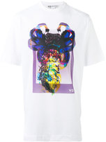 Y-3 graphic print T-shirt - unisex - Cotton/Polyester - S