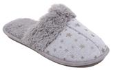 George Star Print Mule Slippers