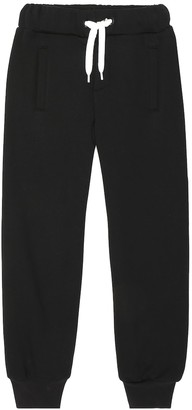 Fendi Kids Logo cotton track pants