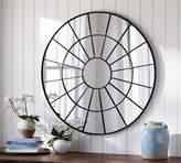 Pottery Barn Brannan Round Metal Mirror