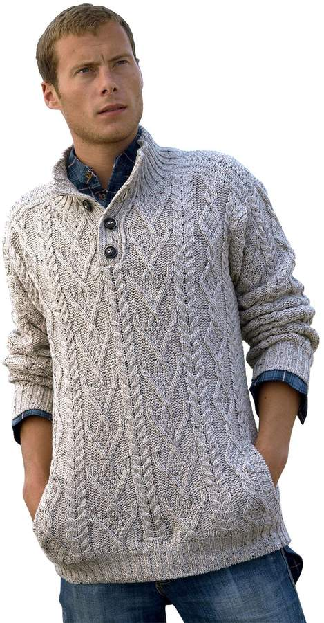 fa954cf491a15d Hand Knitted Jumpers Men - ShopStyle Canada