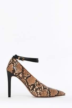 Wallis Womens Camel Poppy Point High Heels - Brown