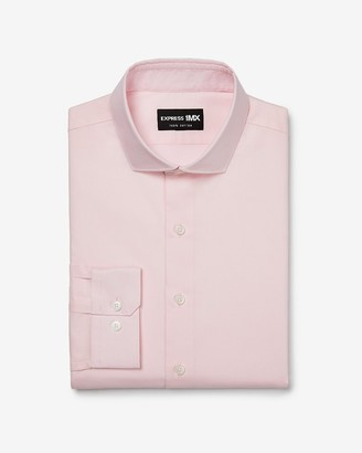 Express Slim Stretch Cotton 1Mx Dress Shirt