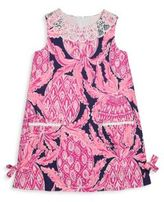 Lilly Pulitzer Toddlers, Little Girl's & Girl's Lilly Classic Shift Side Tie Dress