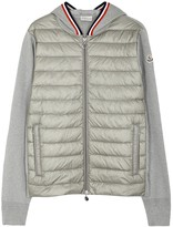 Moncler Maglia Cotton And Shell Jacket