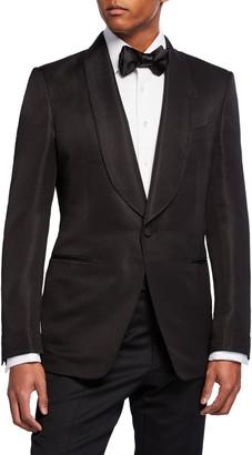 Tom Ford Men's Shelton Shawl-Collar Jacket