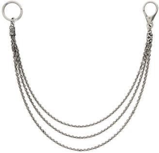 Emanuele Bicocchi Silver Wallet Chain
