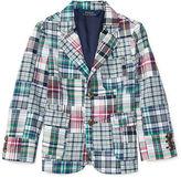 Ralph Lauren 2-7 Madras Patchwork Sport Coat