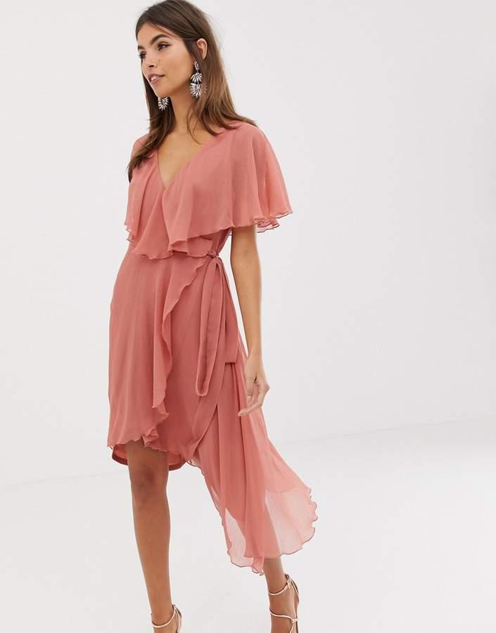 6578df0a5cc Pink Dip Hem Skirt - ShopStyle UK