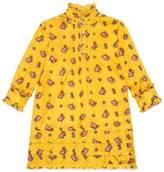 Gucci Children's Sylvie Web print silk dress