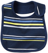 Carter's Striped Teething Bib