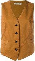 Barena button waistcoat - women - Cotton/Spandex/Elastane - 40