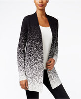 Charter Club Ombré Open-Front Cardigan, Only at Macy's