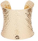 Anna & Ava Basketweave-Textured Cuff Bracelet